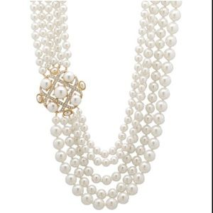 JOAN RIVERS High Society Simulated Pearl Necklace